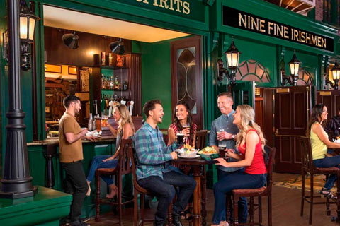 Pub Nine Fine Irishmen